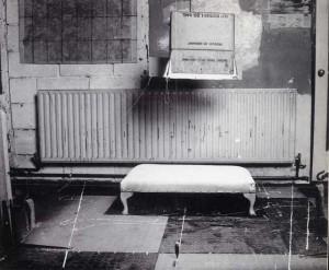 Euan Uglow's Studio. Set up for Jana 1967