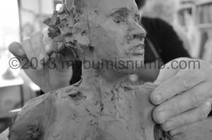Sax Creating bust ©2013